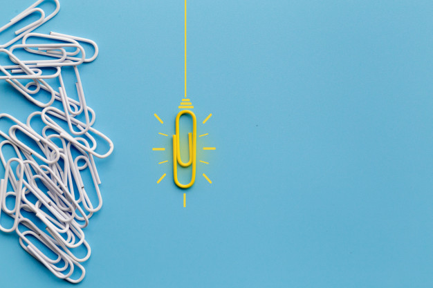 Great-ideas-concept-with-paperclip-thinking-creativity-light-bulb-blue-background-new-ideas-concept_34936-2490